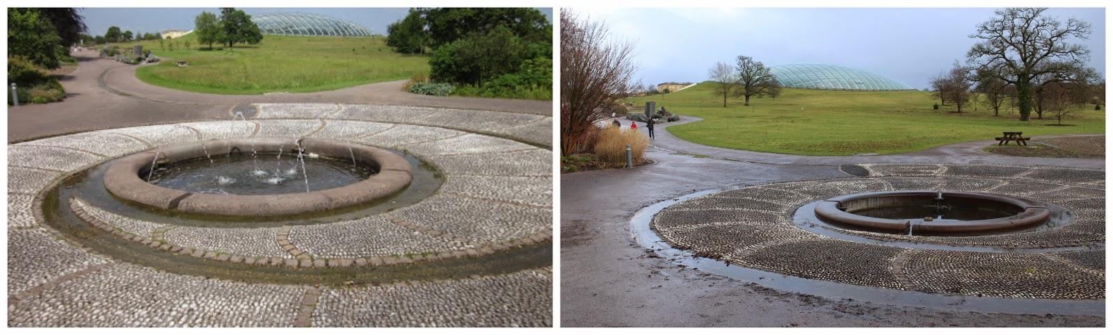 National Botanic Garden of Wales Summer & Winter scene
