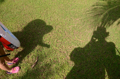 Mama and Kecil shadows