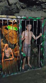 diorama sel tahanan