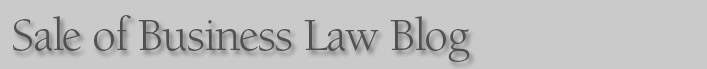 Sale of Business Law Blog