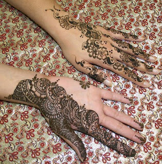 designs at home. The most popular Mehndi styles include Arabic, Indian