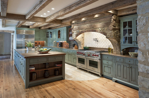 Crystal Cattle: The Turquoise Kitchen
