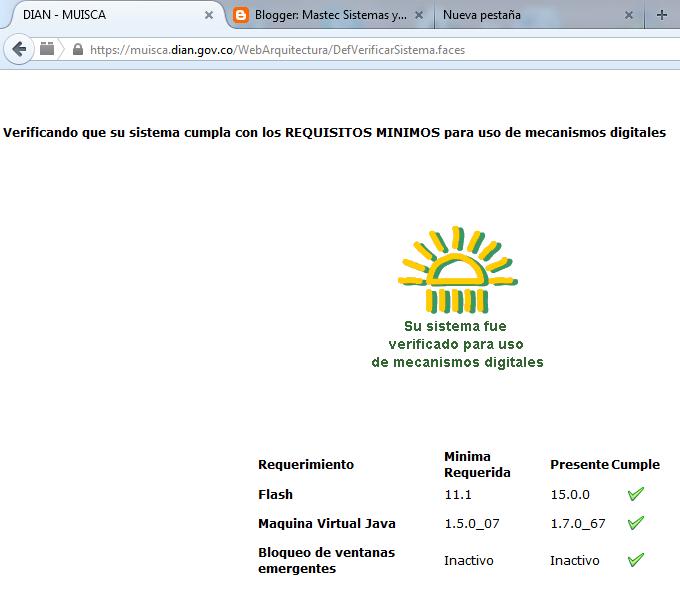 el siguiente Fix que podemos descargar de la pagina WEB de la DIAN