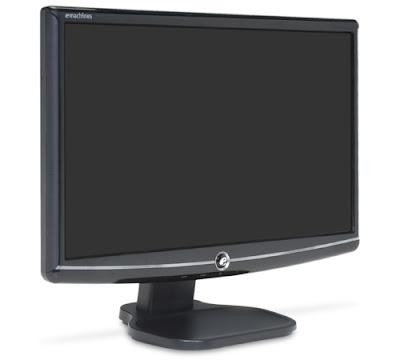eMachine E182HHBBM Class Widescreen LCD Monitor