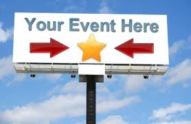 PROMOTE YOUR EVENT HERE