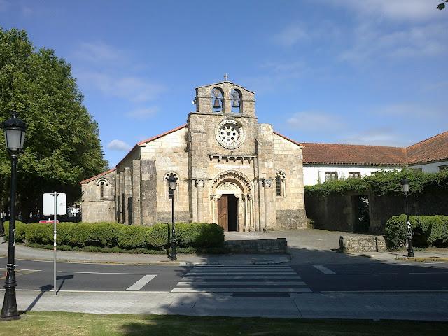 Iglesia de Santa María en Cambre