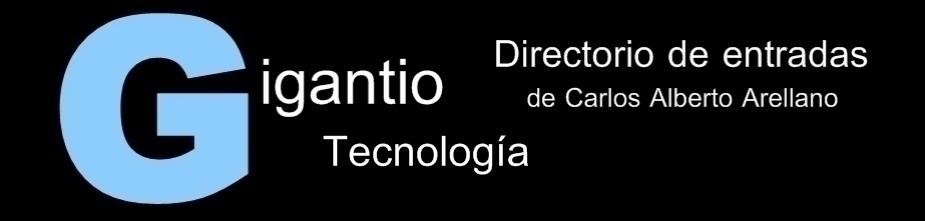 GIGANTIO: Tecnología
