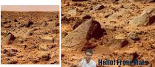 Mars Mystery Solved, NASA, Mars-ian, Marsian