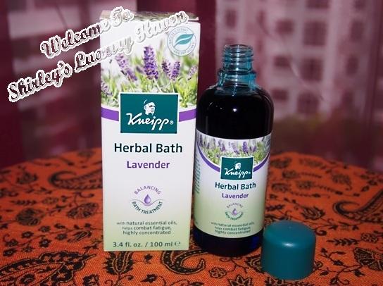 kneipp herbal bath lavender