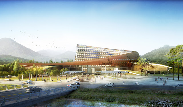 Photo of new complex in the nature