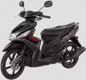 Yamaha Mio M3 125 Blue Core Warna Chat Black