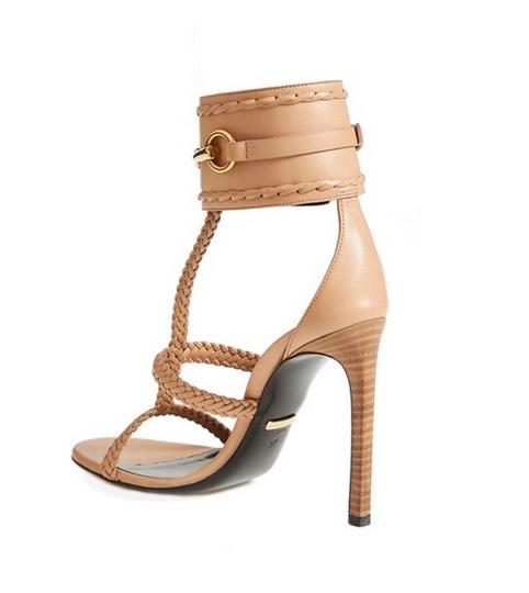 Gucci Nude Stiletto Sandals