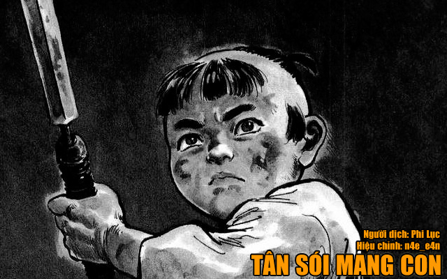 Tân sói mang con, manga, truyện tranh,Shin Kozure ōkami
