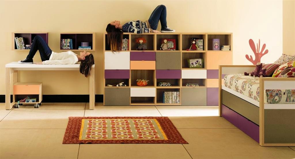 Dormitorios juveniles para dos hermanos for Dormitorios para 4 ninas