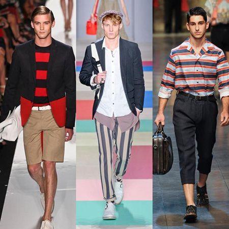 Ropa con rayas moda para los hombres 2013