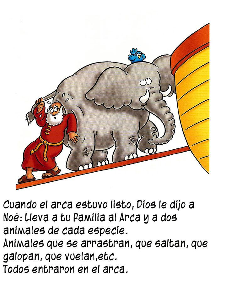 Compartiendo por amor: Historia Arca Noé en imagenes