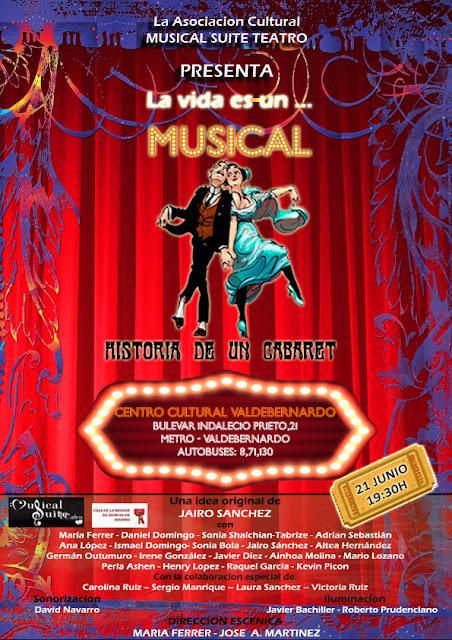 La vida es un musical, Valdebernardo 21 junio 19:00