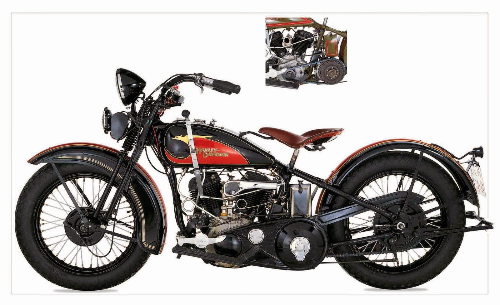 Harley Davidson 1933 VLE