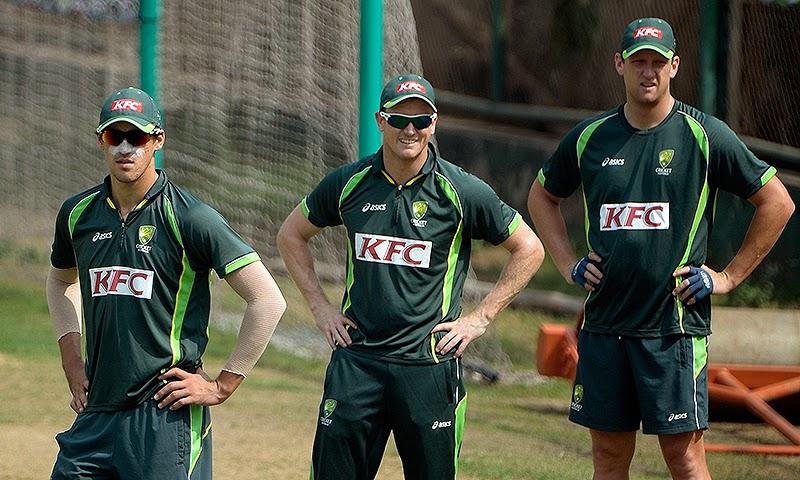 Australia set for Pakistan's spin assault