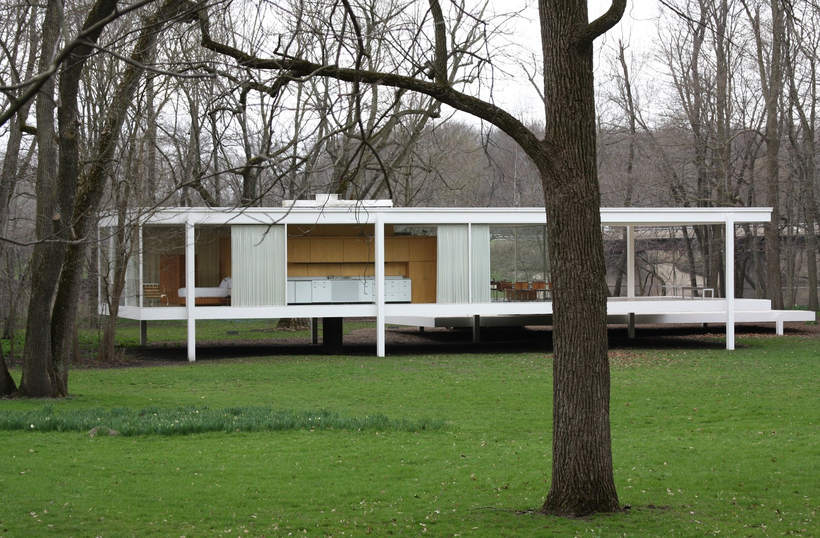 Artecase A Design Blog Philip Johnson 39 S Glass House 1949