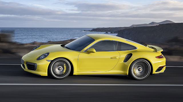 The Porsche 911 Turbo S Coupe