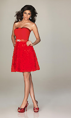 Short Strapless Homecoming Dress by Allure