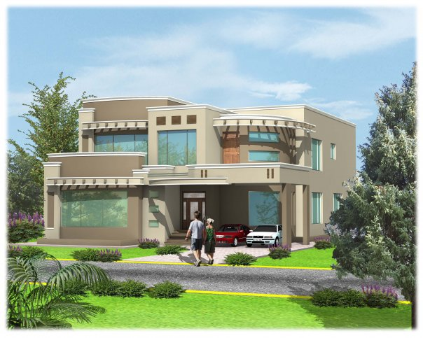 Front Elevation In Lahore : D front elevation lahore