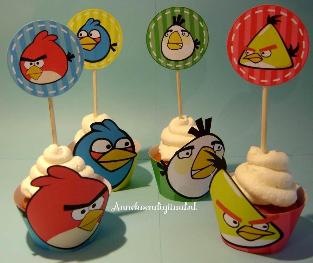 Angry Birds traktatie, Angry Birds free, gratis, gratis printable Angry Birds, Angry Birds traktatie, traktatie zelf knutselen