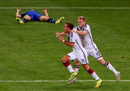 Catatan-Catatan di Laga Jerman vs Argentina