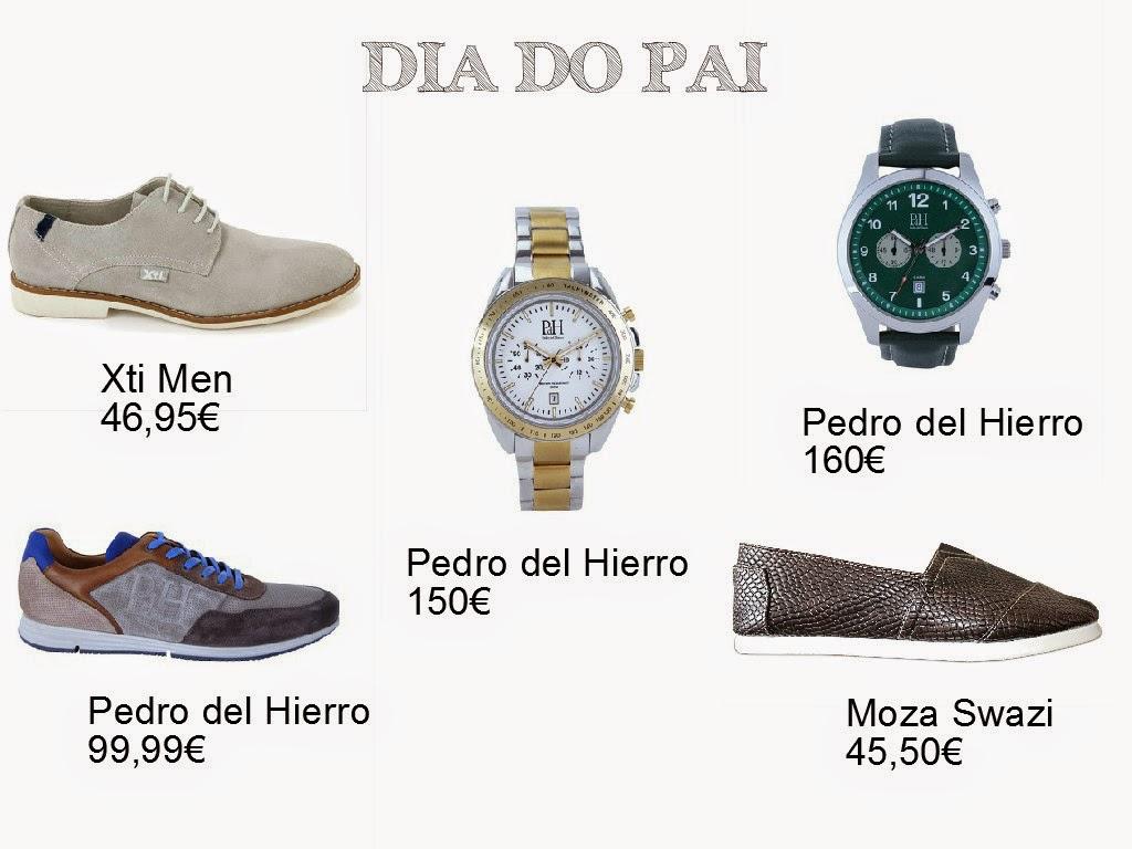 E como o Dia do Pai está bem próximo, deixo-vos aqui 5 sugestões para 'Ele'. São acessórios para homens com um estilo mais clássico, trendy ou prático e desportivo. Moda para Homem. Tendências. Relógios Pedro del Hierro. Dicas de Moda e Imagem. Style Statement. Blog de moda portugal, blogues de moda portugueses.