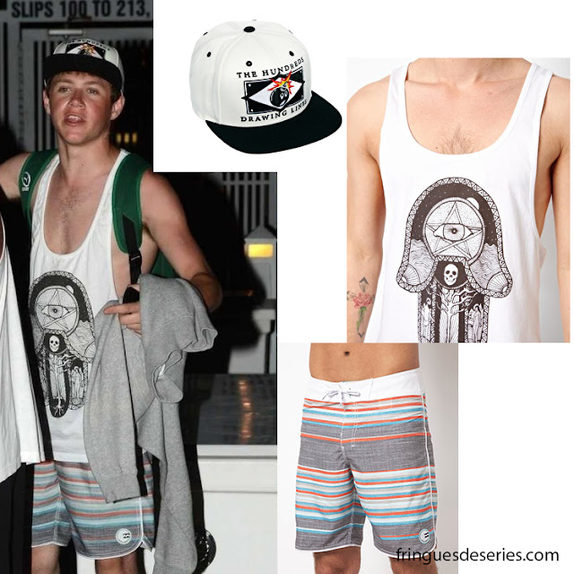 Niall Horan in Miami - Fringues de séries Niall Horan Purity Ring