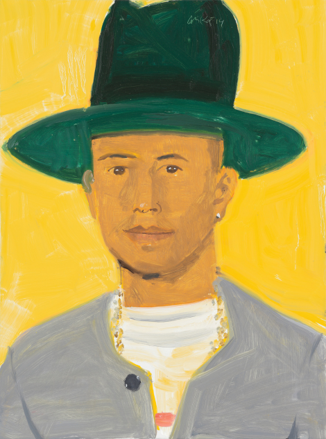 Pharrell Williams for W Magazine's Special Art Issue Cover