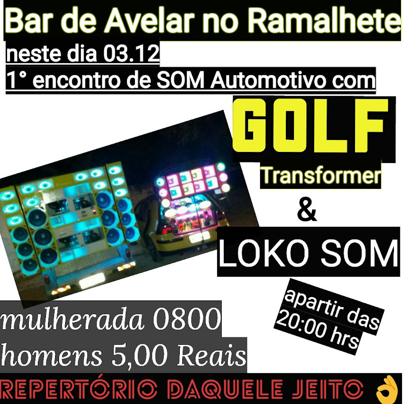 FESTA GOLF BAR DE AVELAR