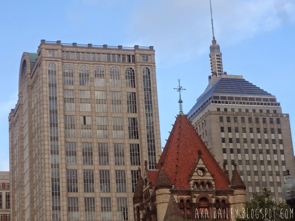 Buildings in Copley Square, Boston