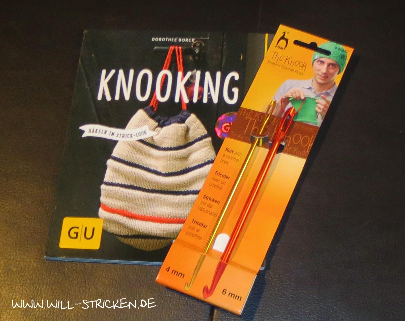 """Pony Knookingnadel und GU Verlag """"Knooking"""""""