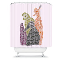 Duane Hosein  We Will Never Judge Shower Curtain