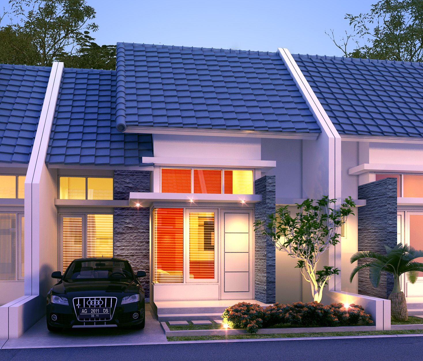 Model rumah minimalis type 36 terbaru 2014 auto design tech for Design rumah mimimalis modern