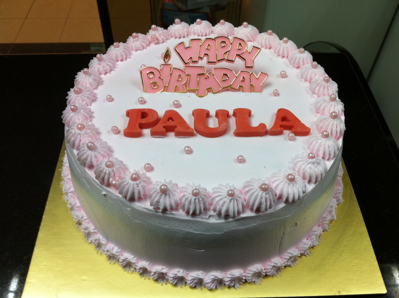Birthday Cake Images Pic : Haven Bakery: Paula Birthday cake