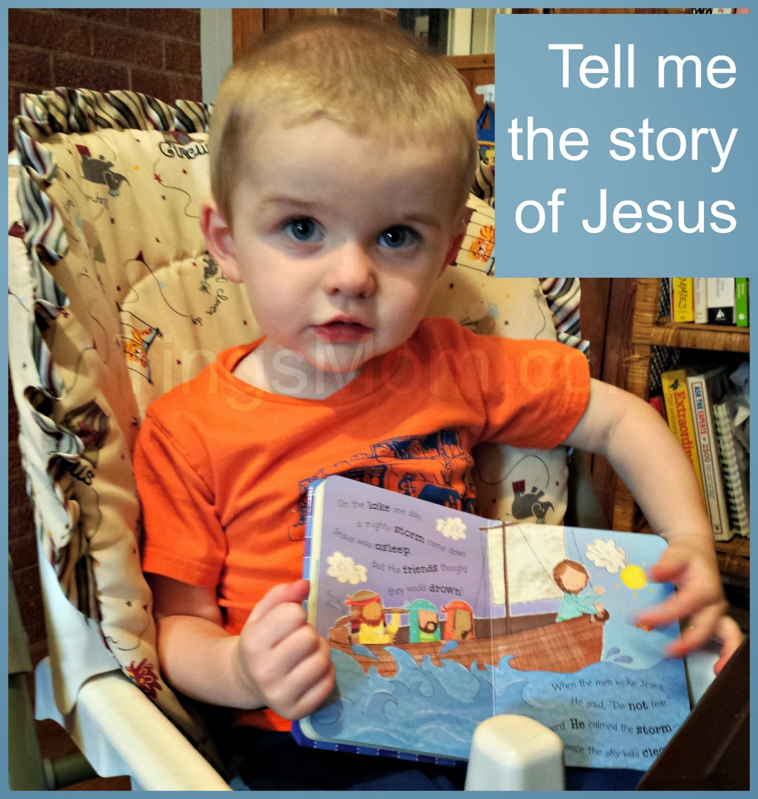 The Story of Jesus | #tommymommy #kidbooks