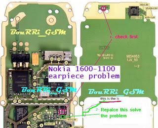 Solusi Nokia 1110 AUDIO