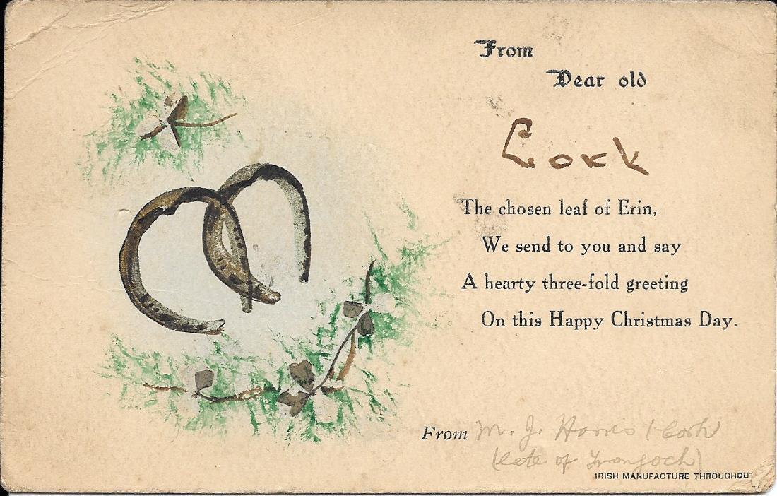 LIAM LANGLEY: Christmas Cards 1916
