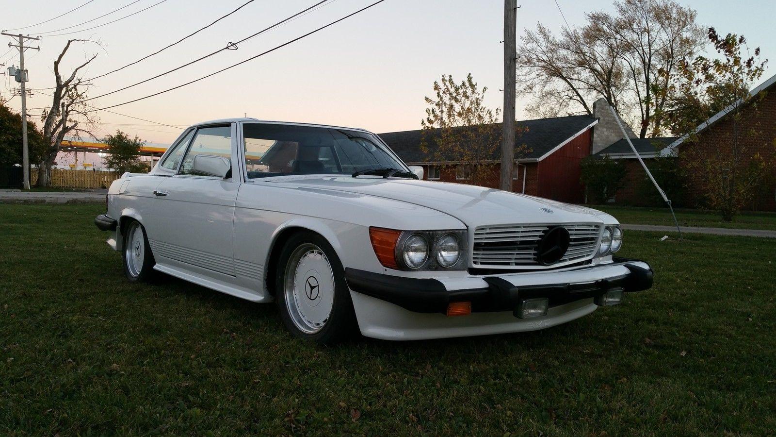 1979 mercedes benz r107 450 sl amg benztuning for Mercedes benz e 450 amg