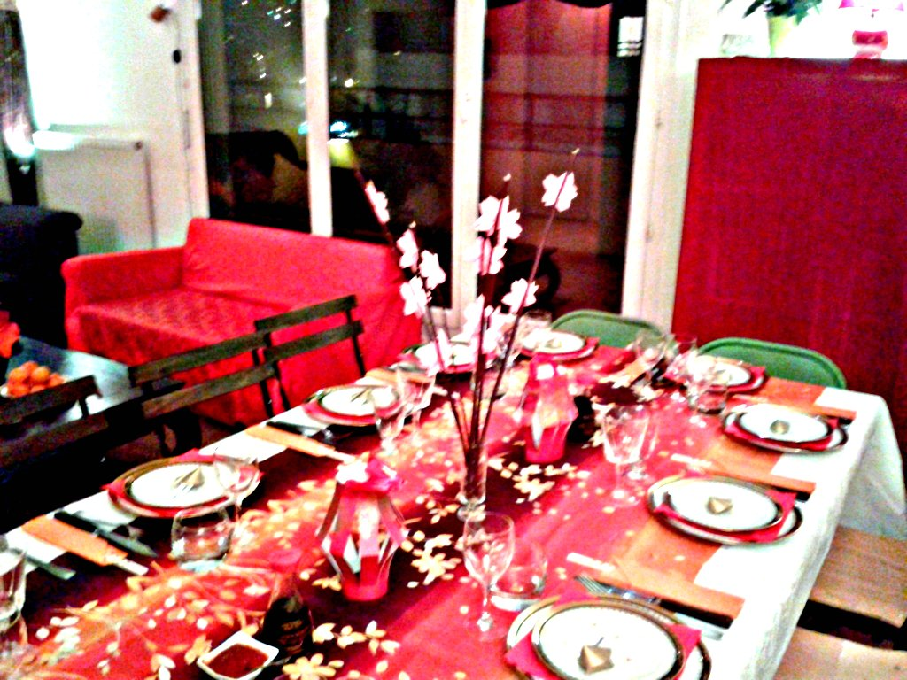 Le salon anglais supperclub r veillon du nouvel an chinois - Deco table nouvel an chinois ...