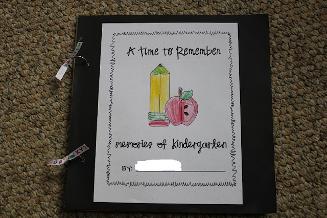 Kindergarten Book Cover Ideas ~ The muddy princess kindergarten handprint scrapbook