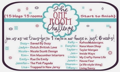 The First One Room Challenge