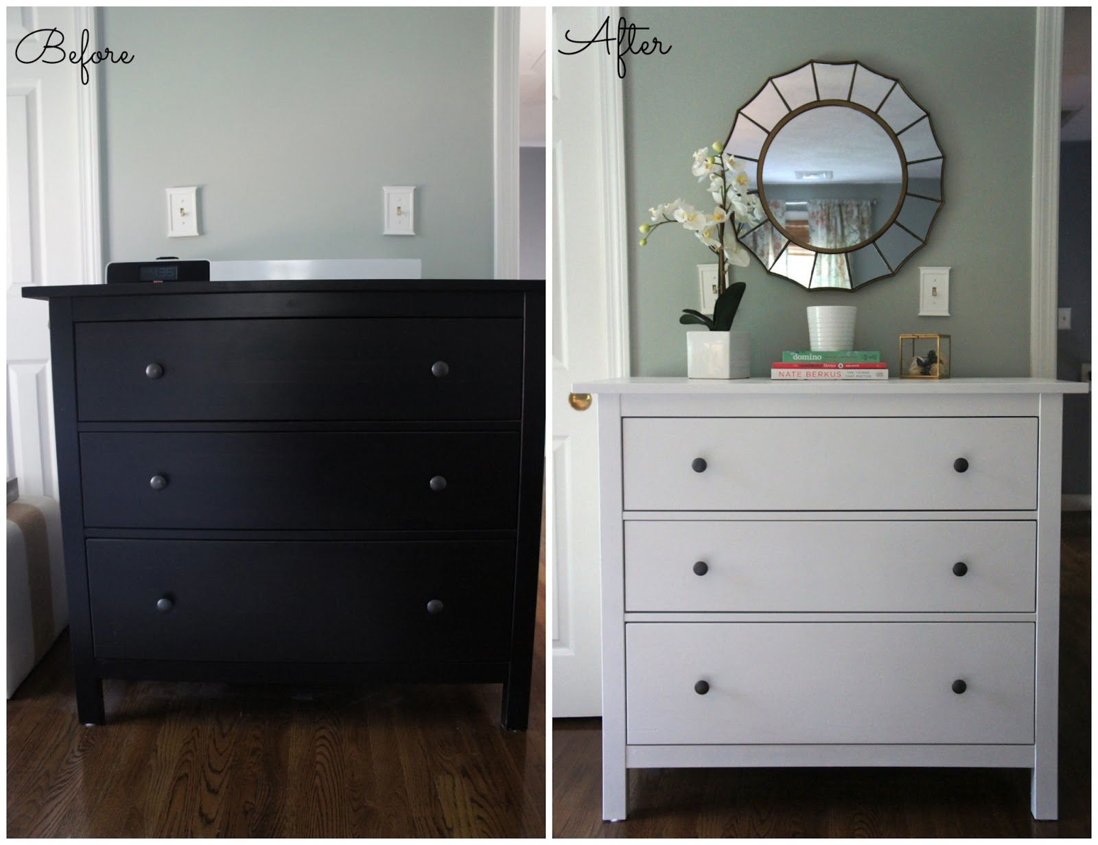 Home with baxter ikea hemnes dresser guest bedroom update for Ikea bedroom furniture dressers