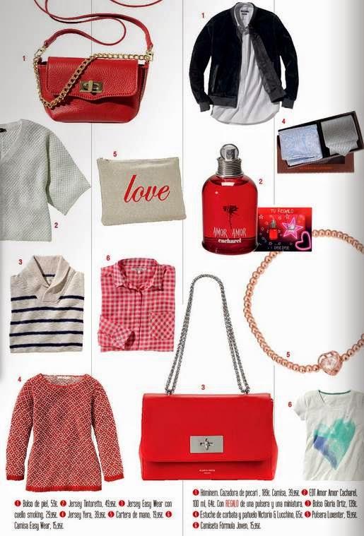 Ropa y bolsos San Valentin 2015 ECI