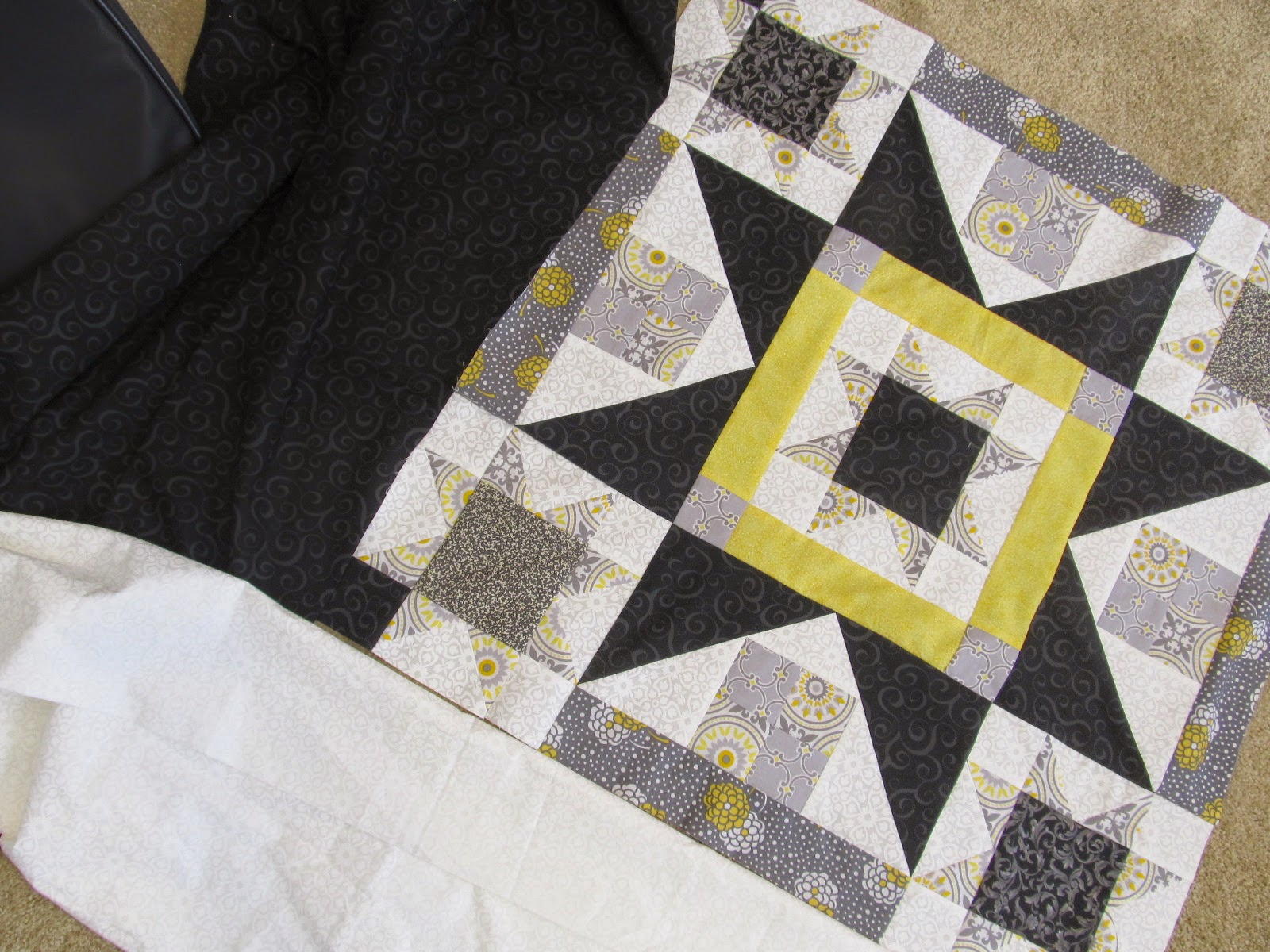 quilt star from The Quilt Ladies