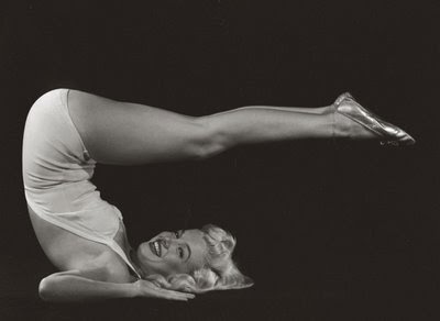Photo of Marilyn Monroe from here .