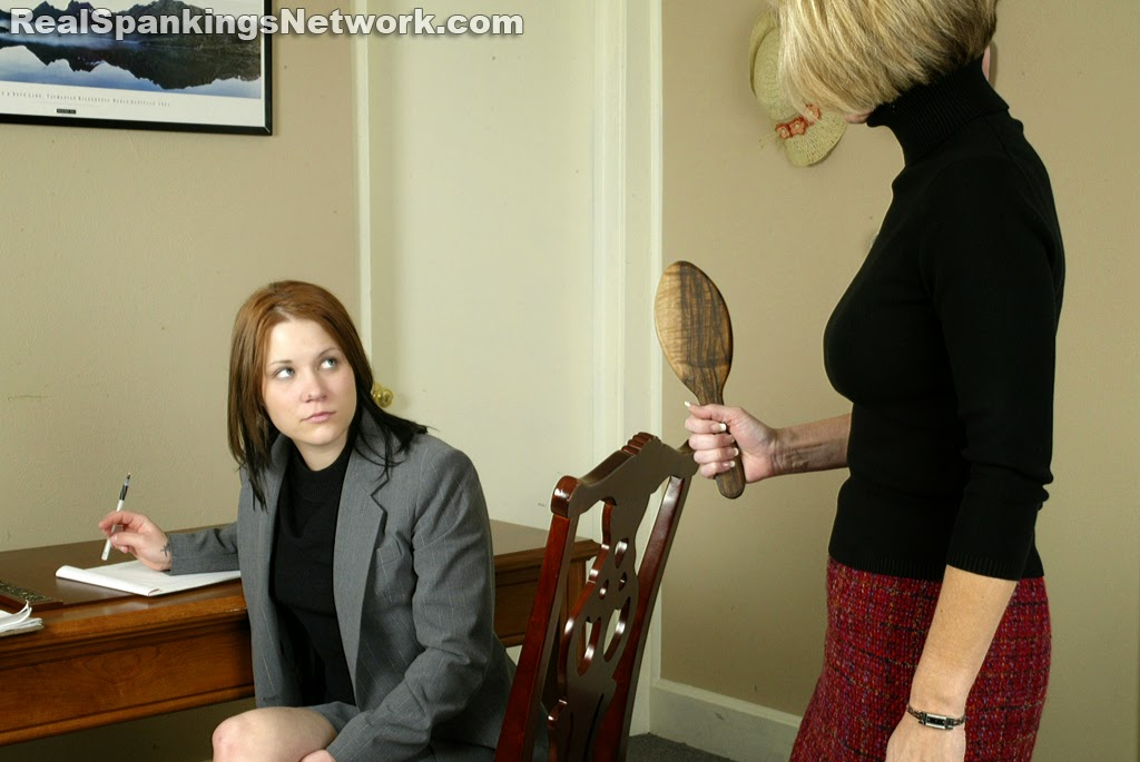 Idea! Spankings with a paddle